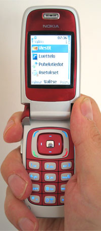 Nokia 6103 user interface