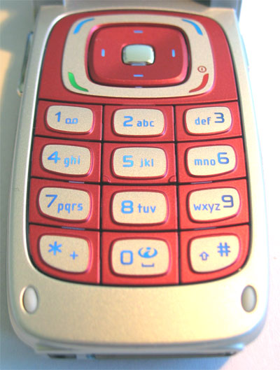 Nokia 6103 cell phone features