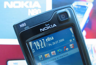 Nokia N80 Hands On Review
