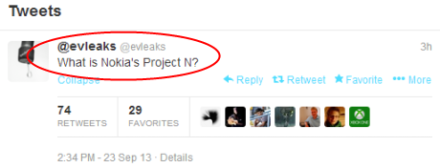 What is Nokia's Project N?